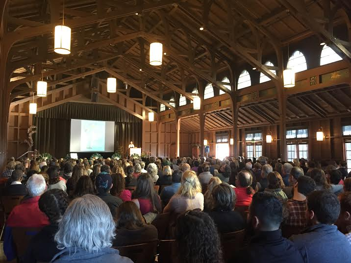Starting the conference off with an inspiring opening keynote from Brock Dolman of  Occidental Arts and Ecology Center .