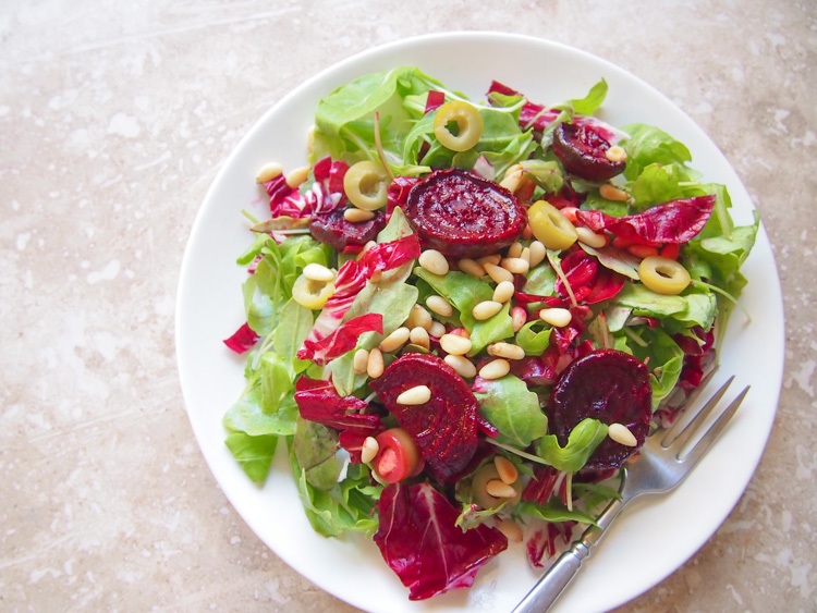 Roasted Beet Celebration Salad