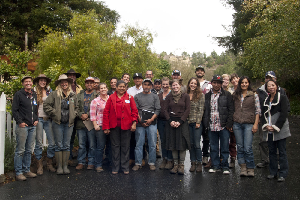 2016 Client Cohort, Sustainable Small Farmers & Ranchers