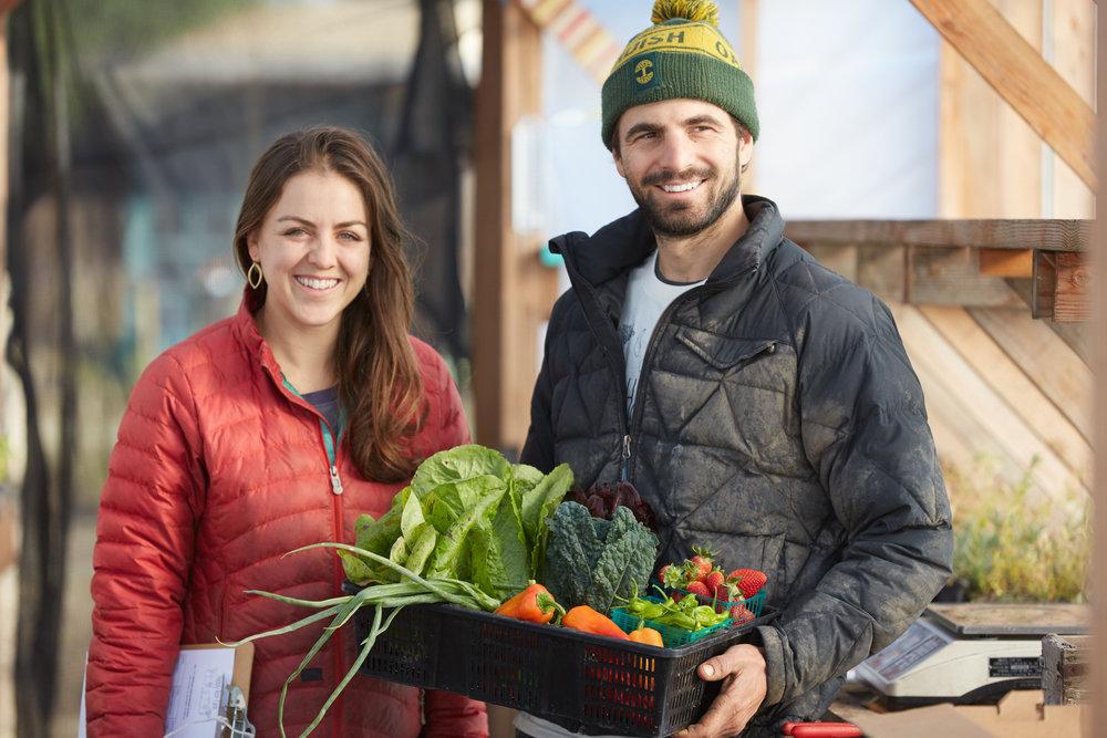 Helena & Matt Sylvester, Happy Acre Farm