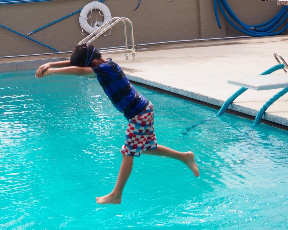 Diving practice