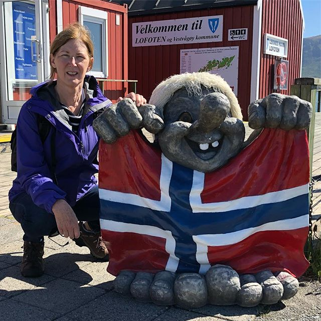 Lofoten! This one's for you, Sean! #leknes #trolls! #norge