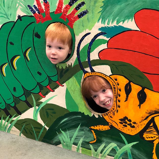 I forgot to post my photos of the Insectarium! We took Eva and Ronan there on Monday before we left. Very fun! #Insectarium #funbugs