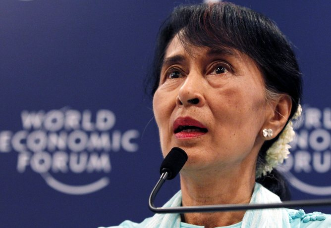 THAILAND WORLD ECONOMIC FORUM AUNG SAN SUU KYI THAILAND WORLD ECONOMIC FORUM AUNG SAN SUU KYI