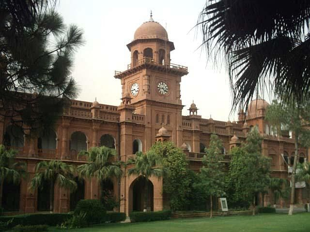 The University of the Punjab, established 1882 in Lahore