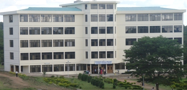Administration Block. St. Augustine University of Tanzania