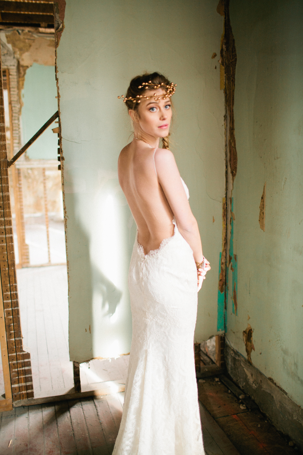 The Katie May 'Princeville' was featured in the a&bé bridal shop stylebook, Spring 2014 Image by Our Love is Loud