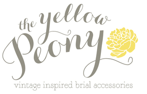 the yellow peony