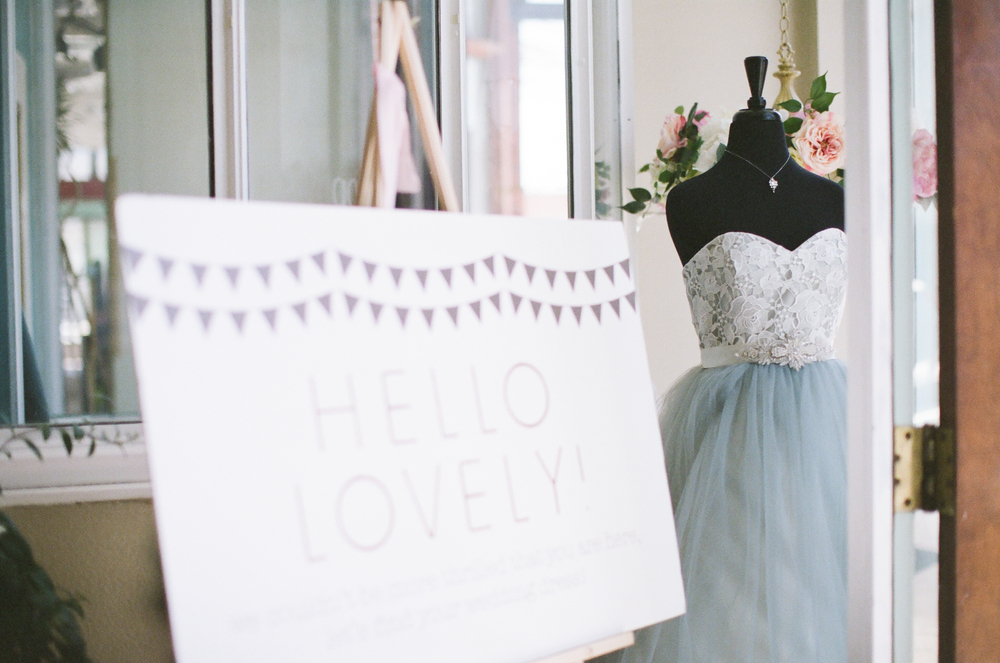 Poppy's was the perfect setting for our bridal pop-up shop!