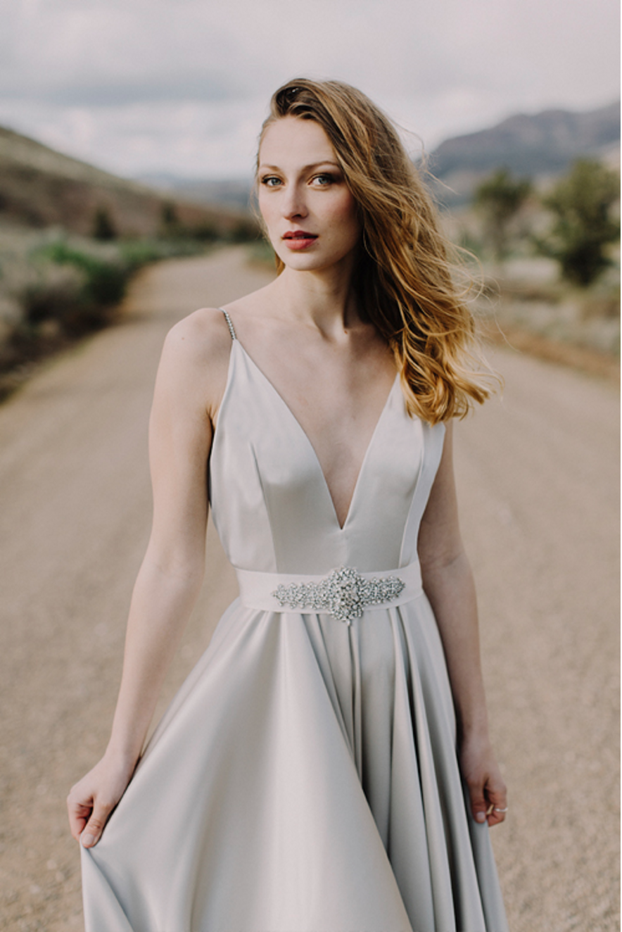 Elizabeth Dye Tea Dress - Colorado