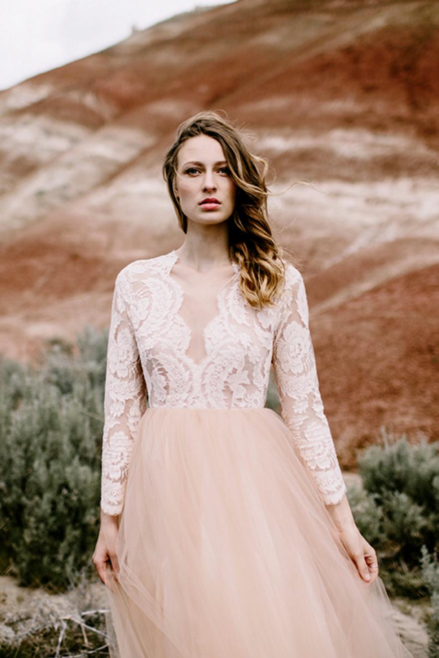 Elizabeth Dye Paloma Gown