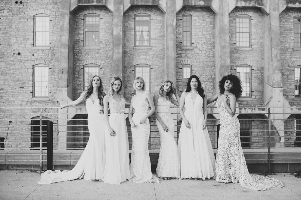 Dallas, Denver, Miami, Minneapolis, Portland a&bé Bridal Shop
