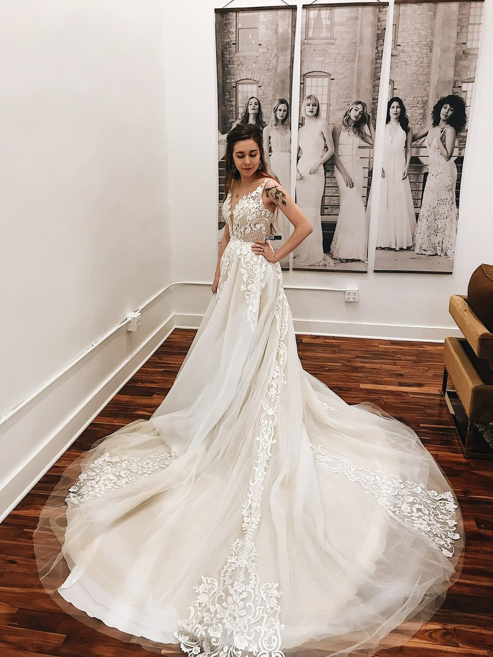 Calla Blanche Gowns | For the Modern + Glamorous Bride|a&bé bridal shop