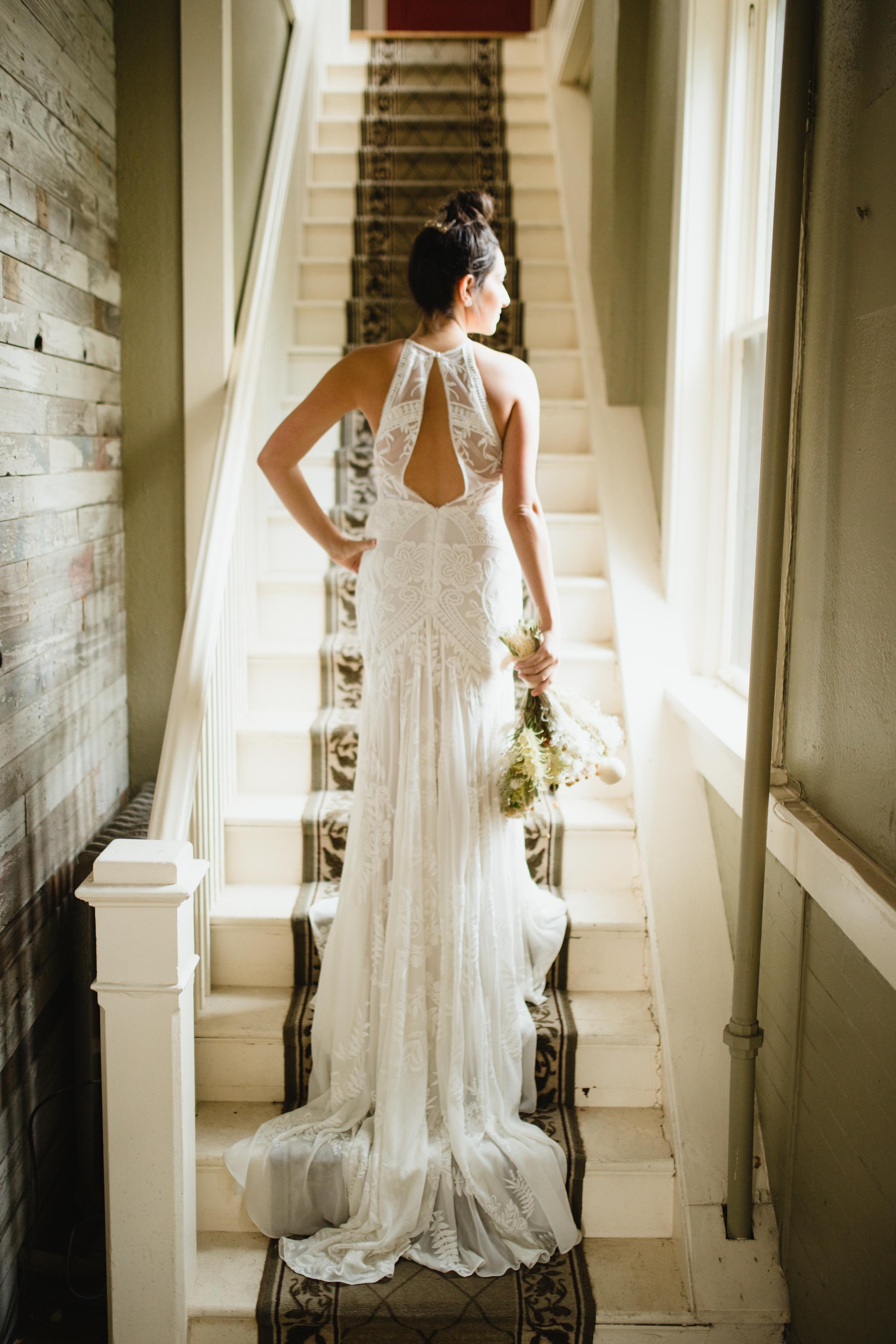 cba943d1beb9 One of our favorite Boho bridal designers  Rue De Seine|a bé bridal ...