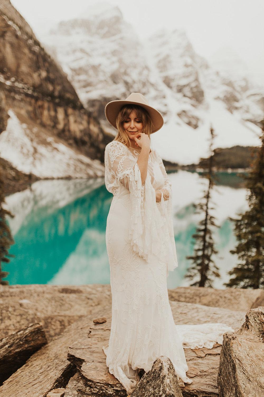 Banff Elopement l Lake Moraine Elopement l Vintage Bolo Tie l Pampas Grass Boho Boquet l Rue Design Wedding Dress l Banff Wedding Photographer l Destination Wedding Photographer l Katy Rose Photo_-94.jpg