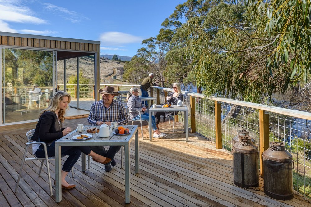 At Truffle Lodge, there is ample personal space, even in the company of others