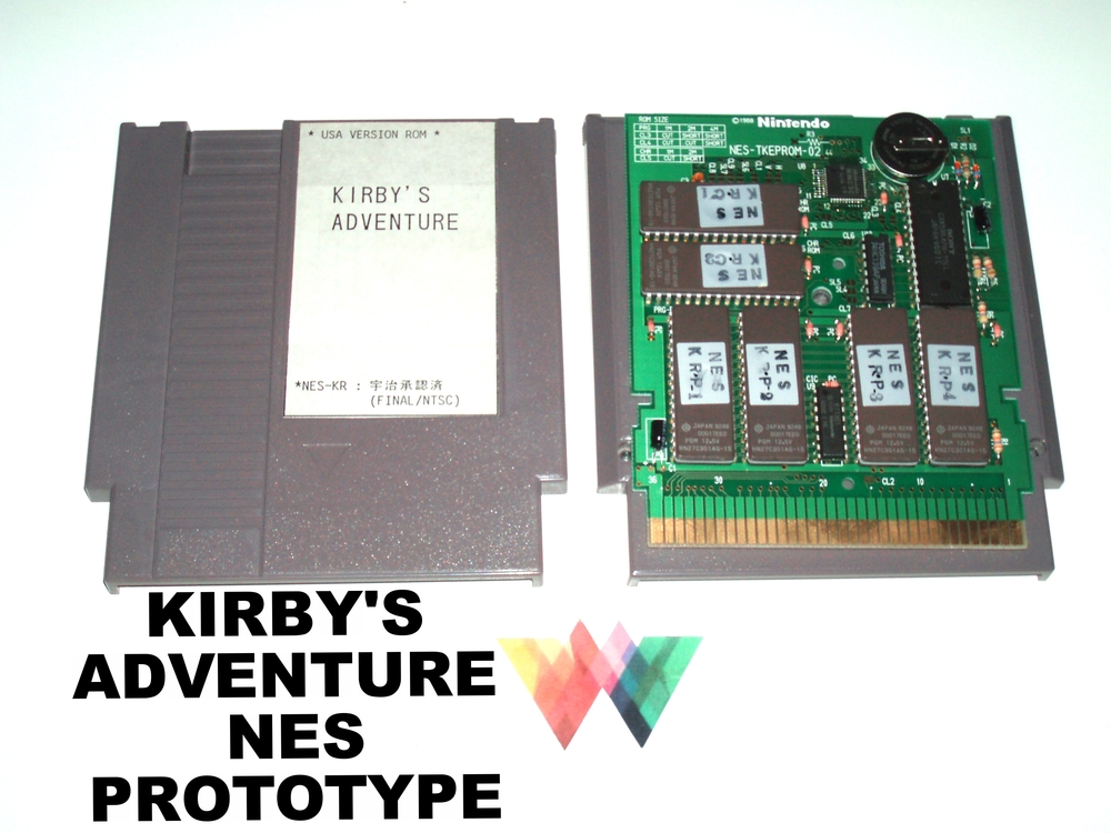 Kirby's Adventure Nintendo NES Prototype - final version. ROM File available upon request.