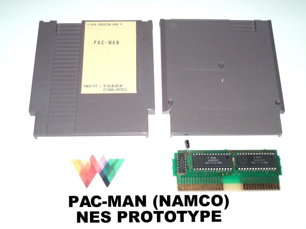 Pac-Man (Namco) NES Prototype