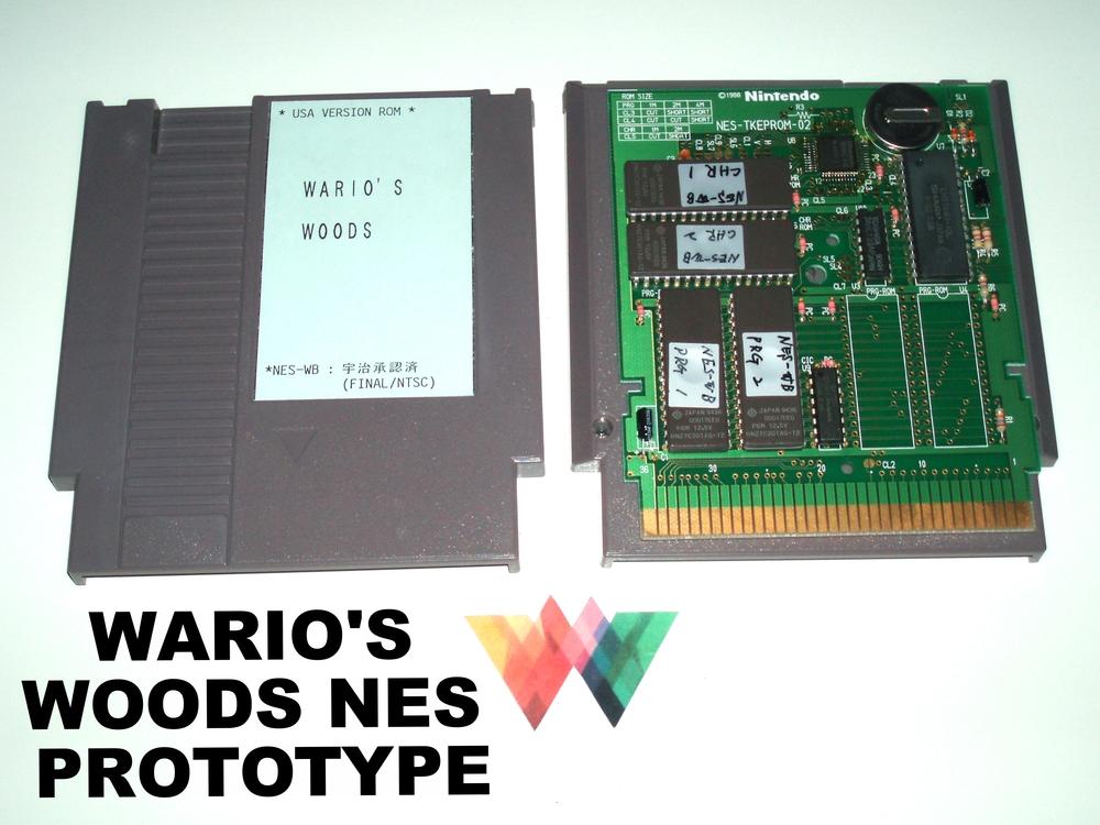 Wario's Woods Prototype