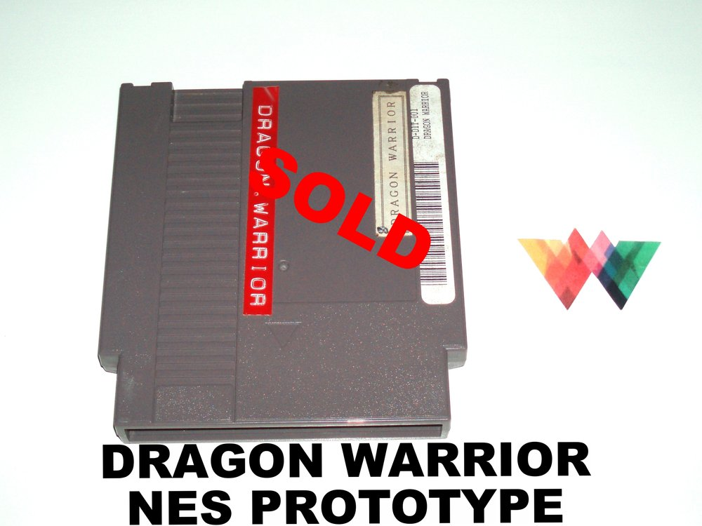 Dragon Warrior Nintendo NES Prototype