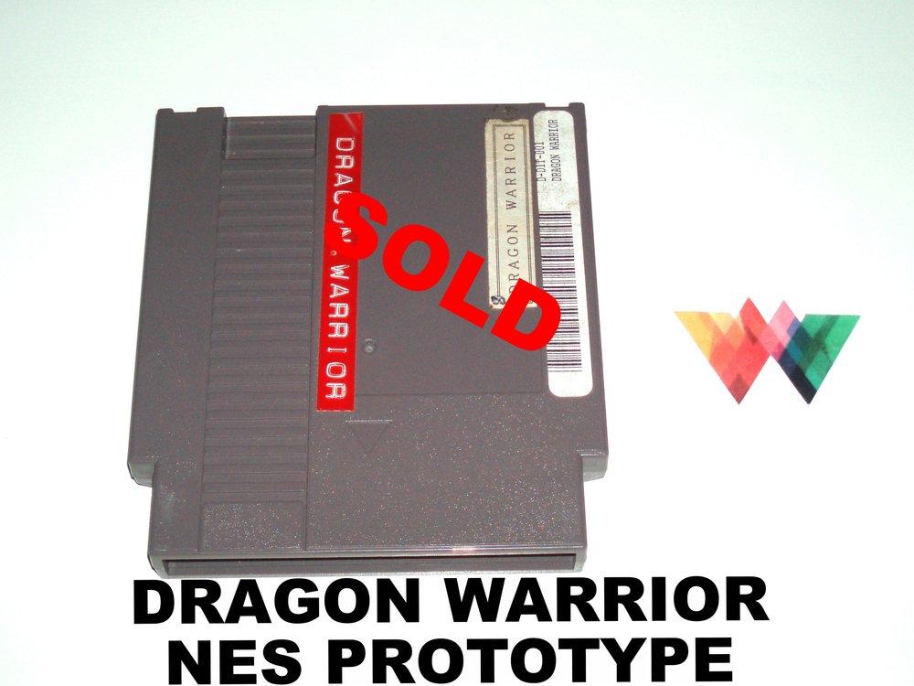 Dragon Warrior Nintendo NES Prototype
