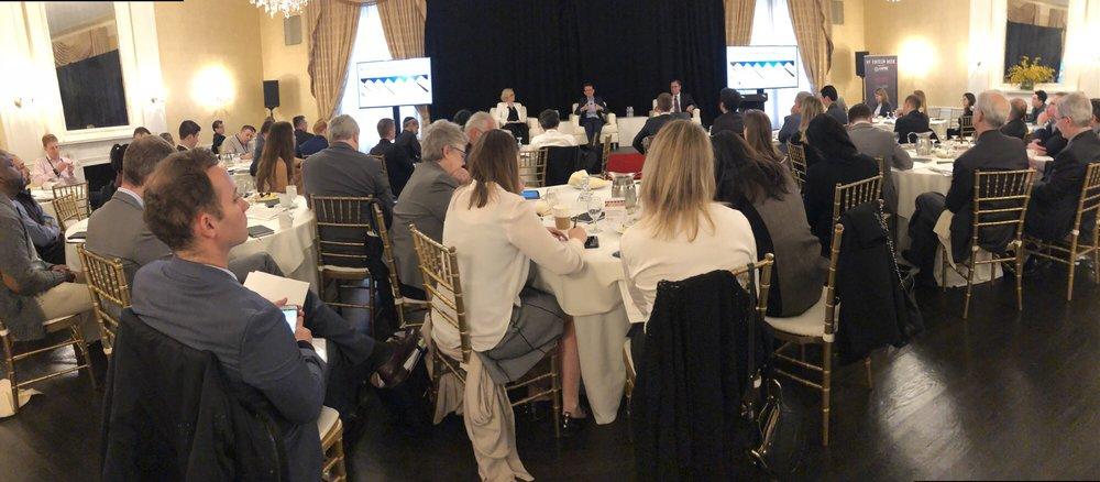 S&P Blockchain Breakfast - the latest in blockchain technology