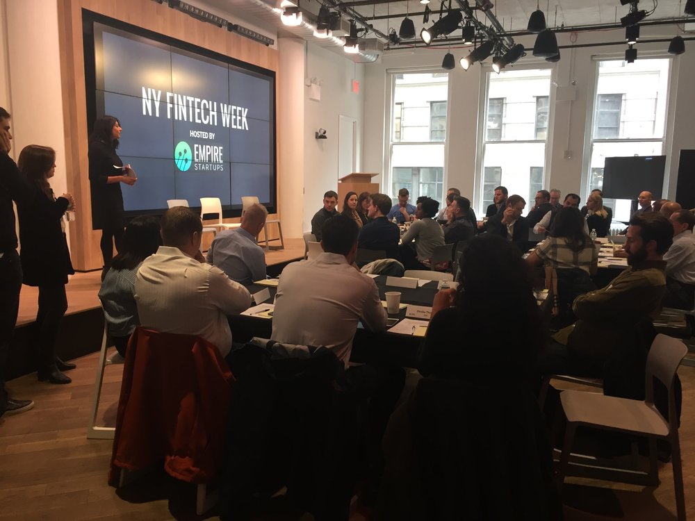 Bank and FinTech Innovation Roundtable - a meeting of minds