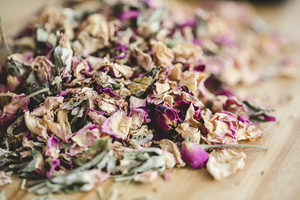 lavender and rosehip