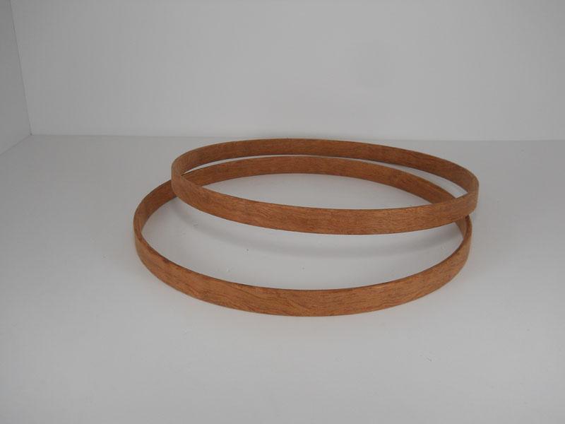 Bubinga classic hoops