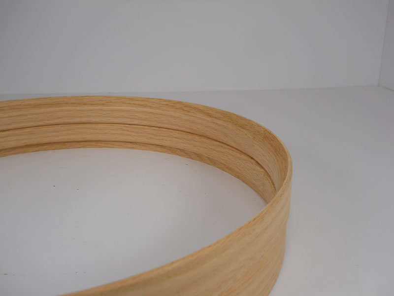 Red oak Hide-A-Head hoops