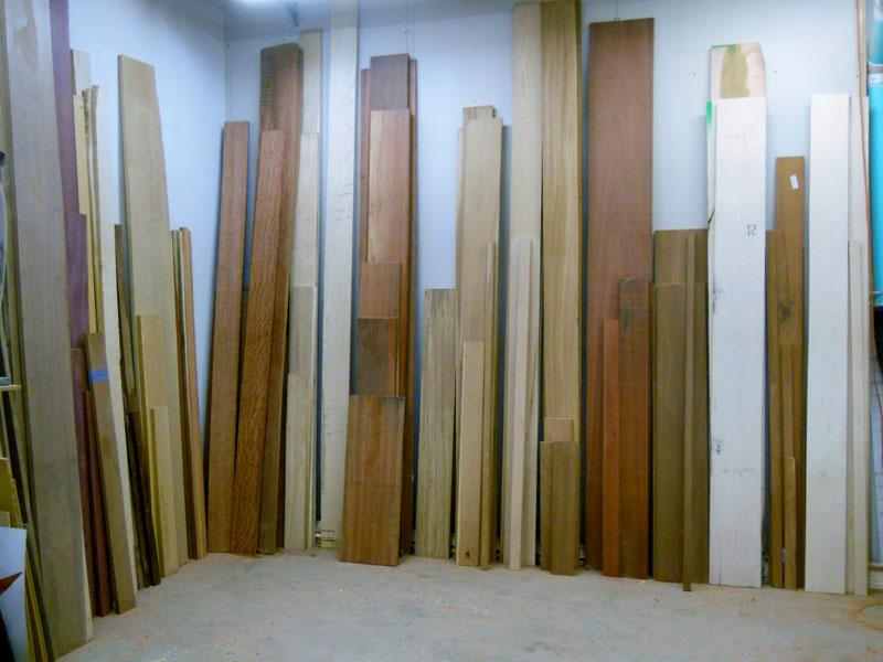 Wood species inventory.