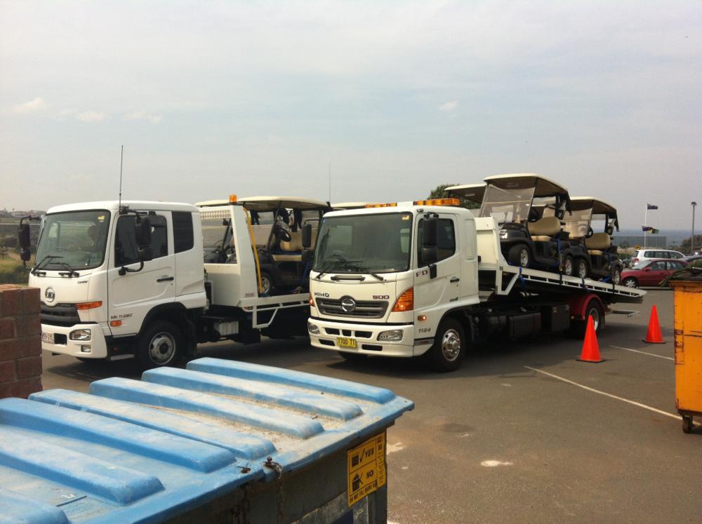 Towing Sydney, golf carts