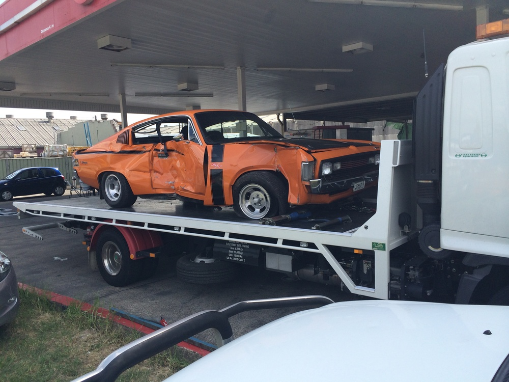 orange car towing sydney