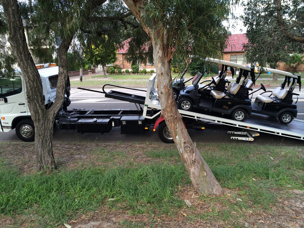 golf cart towing sydney