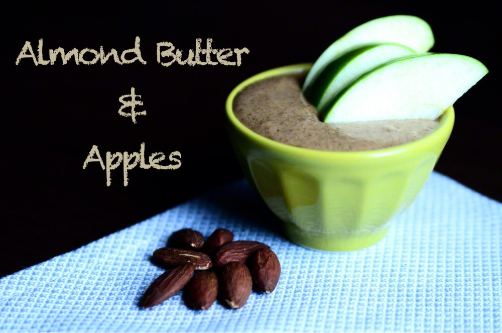 Almond Butter and Apples | Seed Plant Water Grow