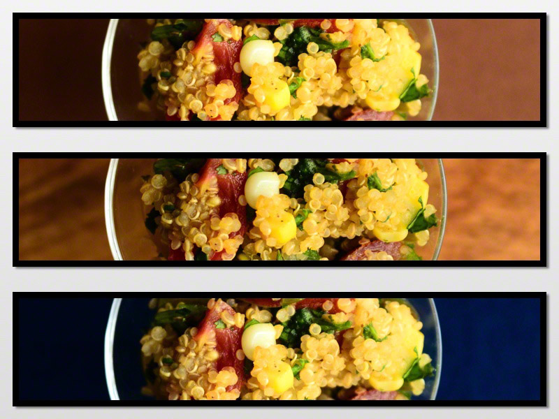 Quinoa Corn Salad featuring Baby Heirloom Tomato + Fresh Cilantro | Seed Plant Water Grow