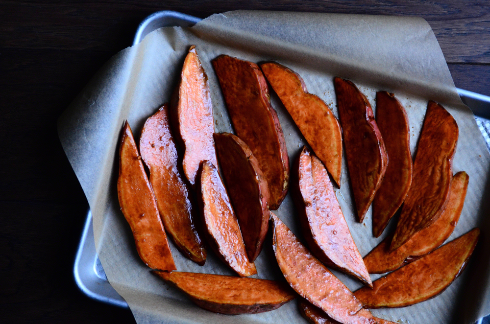Balsamic Truffled Sweet Potato Wedges | Seed Plant Water Grow