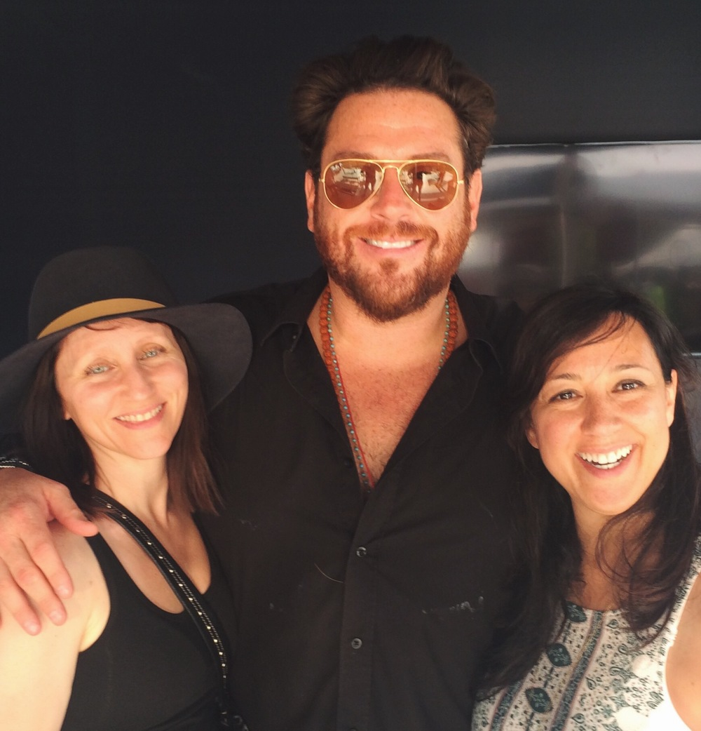 My friend Sophia and I with Scott Conant