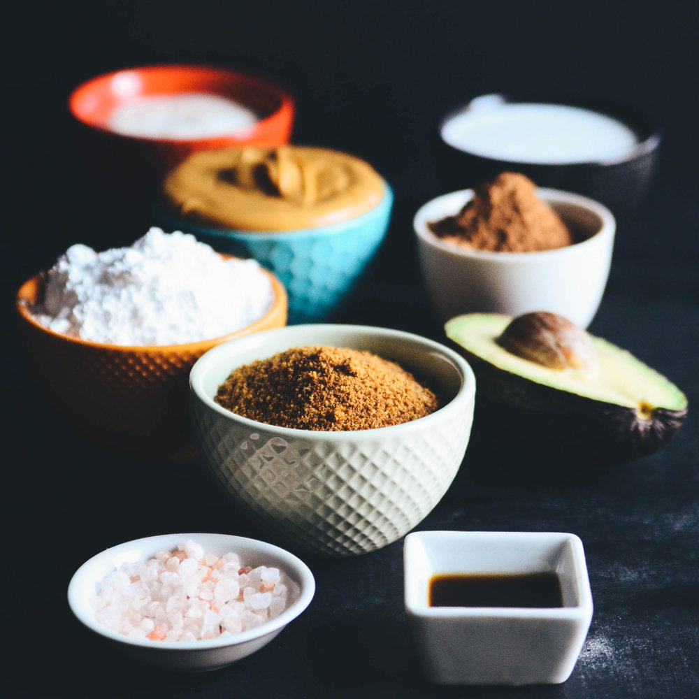 Peanut Butter and Avocado Chocolate Mousse Swirl topped with Coconut Milk Whipped Cream | Seed Plant Water Grow