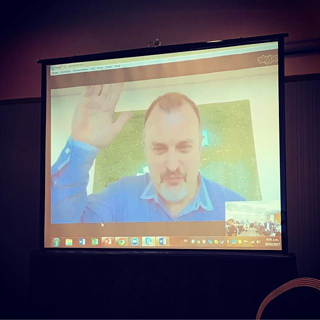 Privileged to have Craig Neville-Manning virtually sharing his wisdom and innovative insights from New York #maori #ict #innovation #aotearoa #newzealand