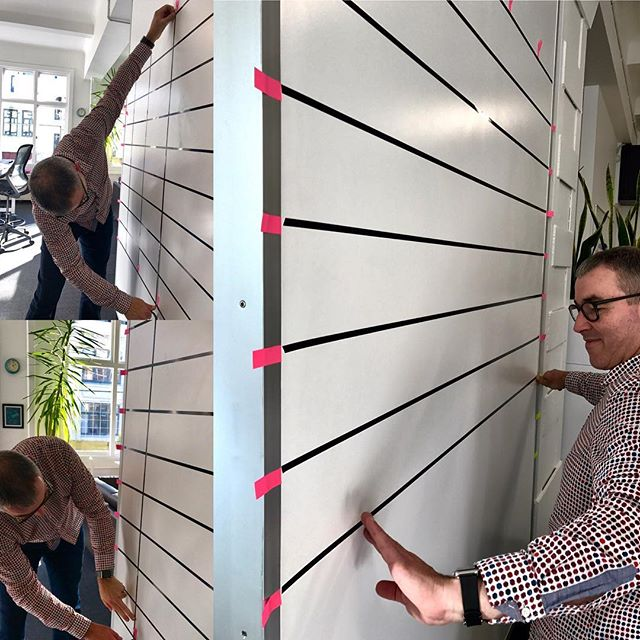 'Paste-up' meets Agile - old skills, new tricks  #oldskool #agile #olddognewtricks  #graphicdesign #prepress #design #wellington #newzealand