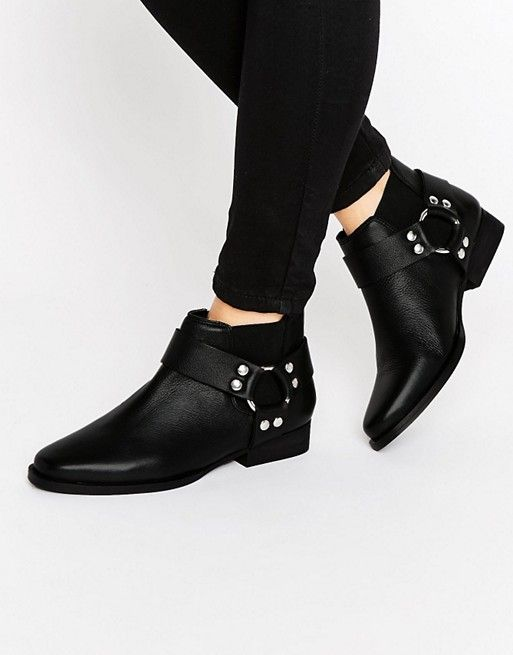 ASOS | Altico Leather Western Chelsea Boots