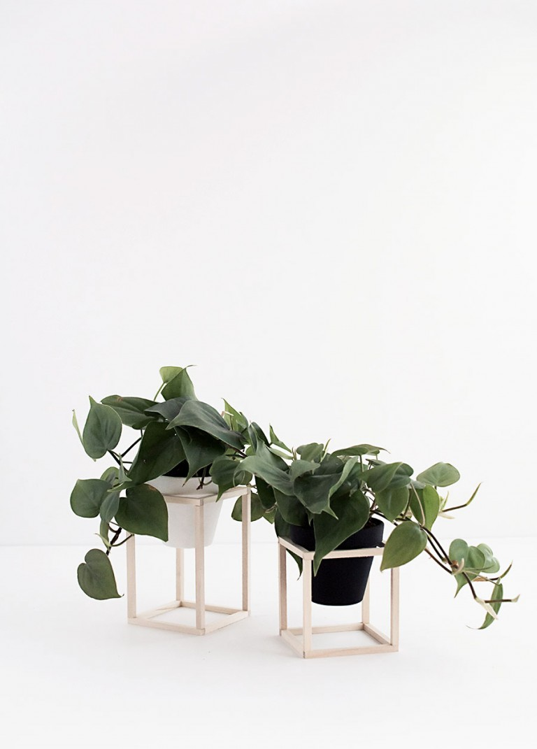 HOMEY OH MY | DIY Mini Plant Stands