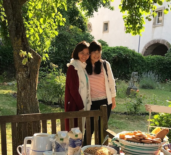 Vicky Deng and Tomoko Mino at Schloss Seehaus Castle