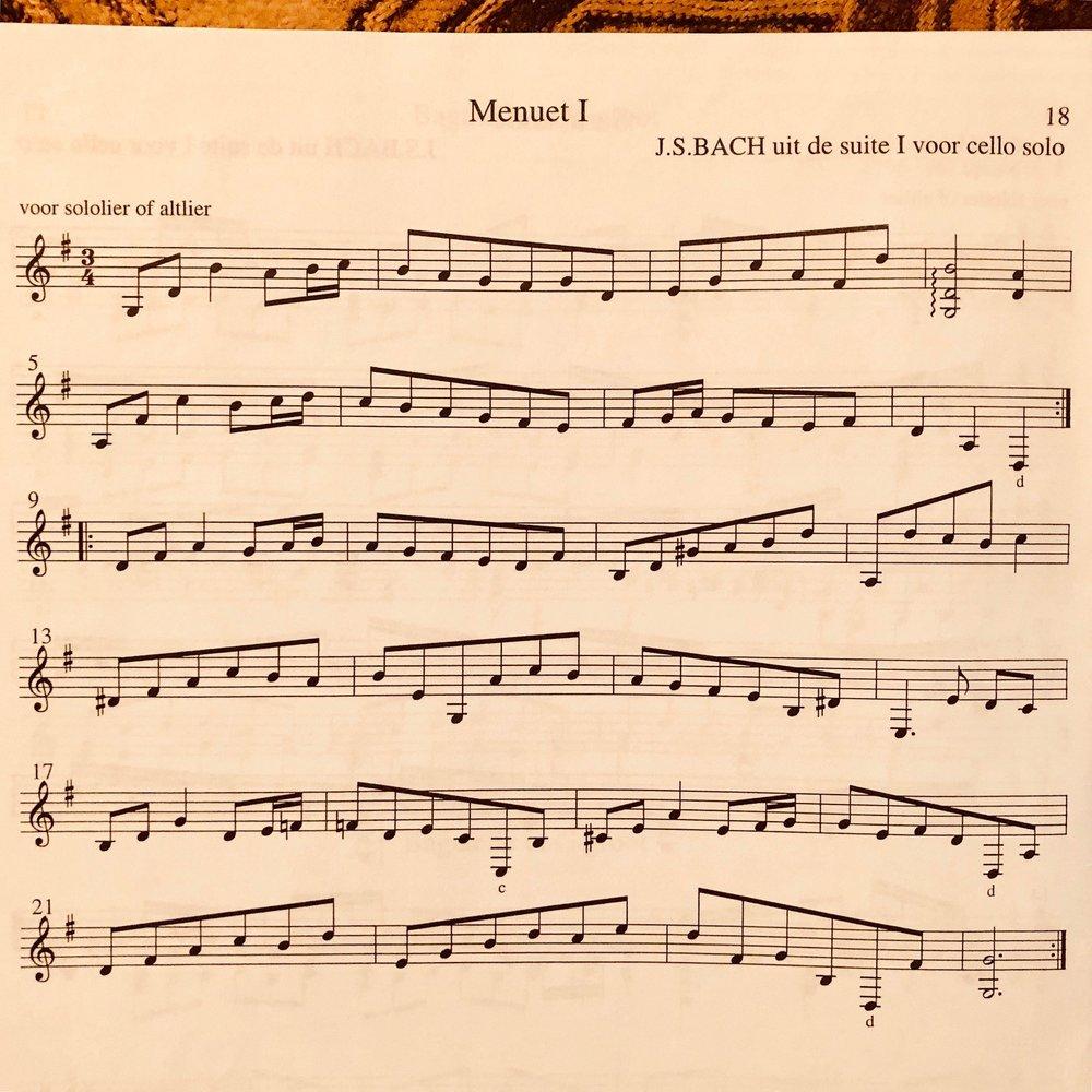 From the Book -   Telemann en tijdgenoten  , Muziek voor lier solo