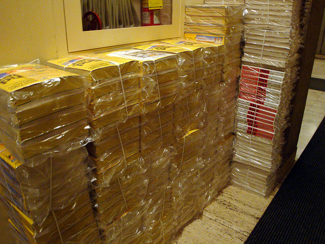 Yellow Pages stack
