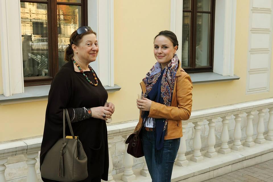 Нина Виленская с дочерью.