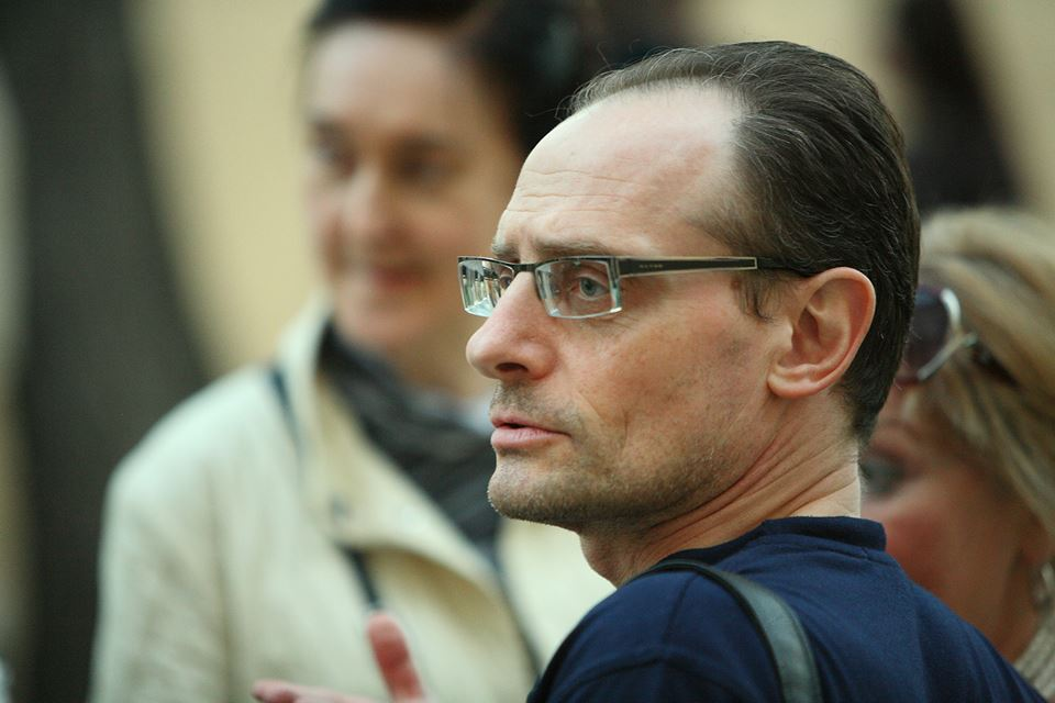"""Павел Гордеевич Николенко, куратор выставки """"Чего изволите?"""""""