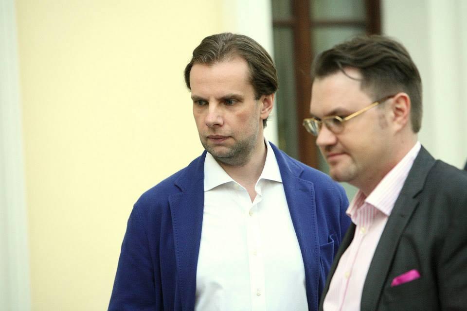 Андрей Маруденко и Андрей Новиков-Ланской