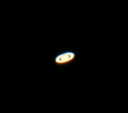 This is my first attempt at capturing Saturn. I have a lot of learning to do when it comes to stacking images and bringing out the detail, but watch this.....erm.... space!